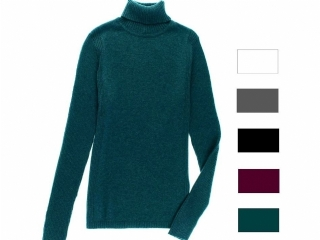 Leo & Nicole Women's Long Sleeve Ribbed Sweater